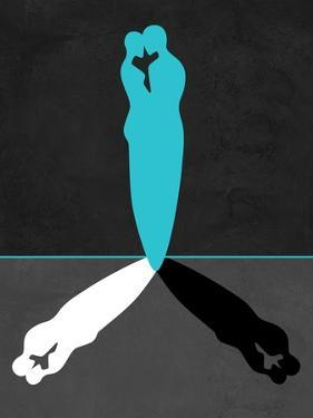 Blue Kiss Shadow by Felix Podgurski