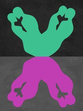 Green and Purple Kiss by Felix Podgurski