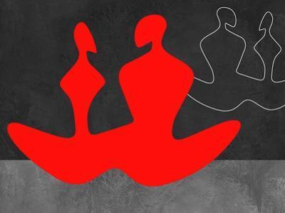 Red Couple 1 by Felix Podgurski