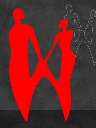 Red Couple 2 by Felix Podgurski