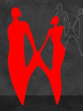 Red Couple 2 by Felix Podgurski