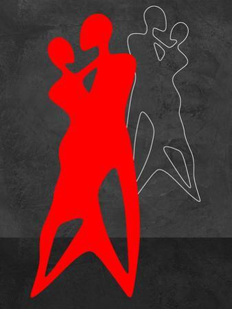 Red Couple Dance by Felix Podgurski