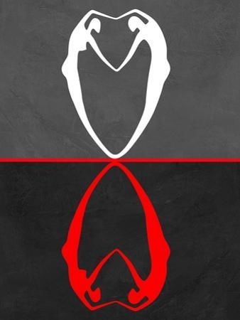 Red Heart Reflection by Felix Podgurski