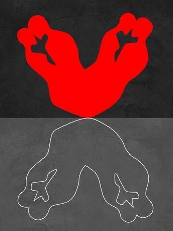 Red Kiss 2 by Felix Podgurski