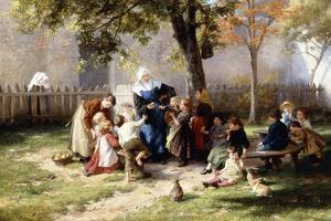 The Schoolyard by Felix Schlesinger