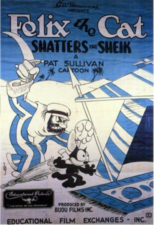 Felix the Cat Shatters the Sheik