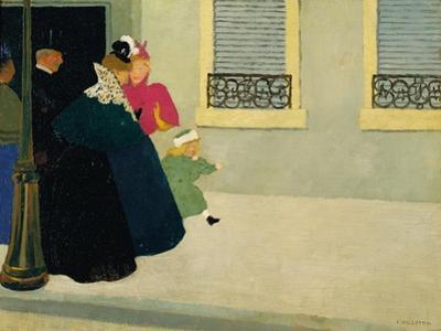 A Walk, C.1895 by Félix Vallotton