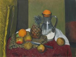 Apples and a Pineapple, 1923 by Félix Vallotton