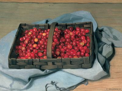 Basket of Cherries, 1921 by Félix Vallotton