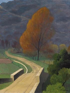 Bridge over the Beal, 1922 by Félix Vallotton