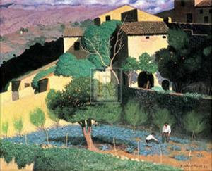 Cagnes by Félix Vallotton