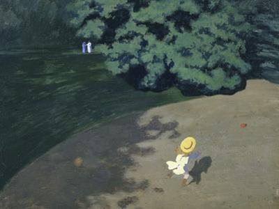 Child Playing with the Ball (Corner of the Park by Félix Vallotton