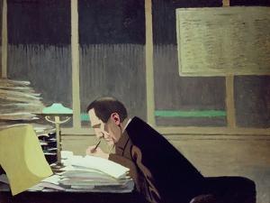 Felix Feneon by Félix Vallotton