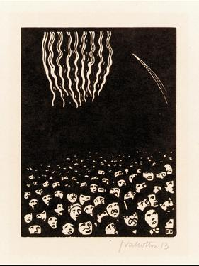 Fireworks (Scene from the April 1900 World's Fair in Paris), 1901 by Félix Vallotton