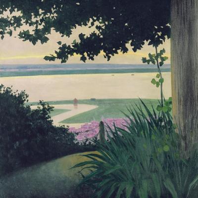Honfleur and the Baie de La Seine, 1910 by Félix Vallotton