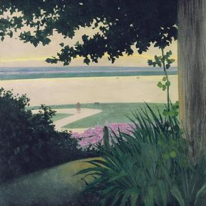 Honfleur and the Baie de La Seine, 1910 by Félix Vallotton