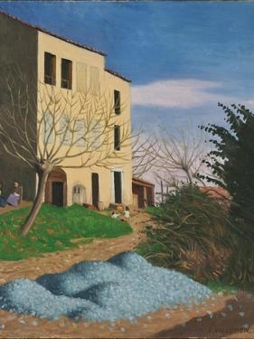 House in the Sun, Blue Stones, 1920 by Félix Vallotton