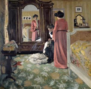 Interior, 1904 by Félix Vallotton