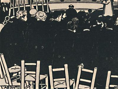 'L'Absoute', 1919 by Félix Vallotton