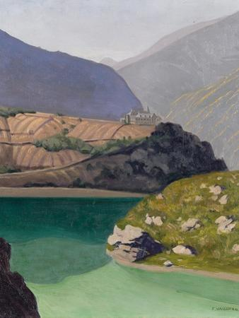 Lake Geronde, Sierre, 1919 by Félix Vallotton