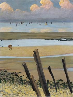 Low Tide at Villerville, 1922 by Félix Vallotton