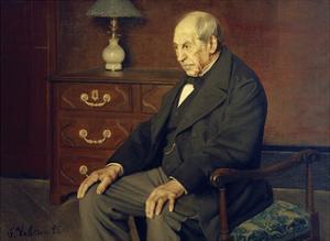 Monsieur Ursenbach by Félix Vallotton