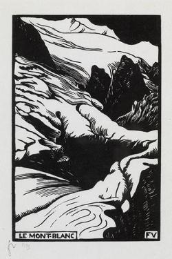 Mont-Blanc, 1892 by Félix Vallotton