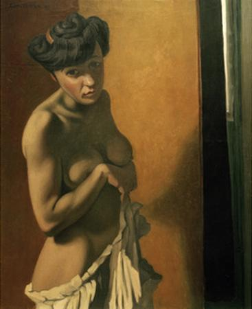 Nude Tanned Torso by Félix Vallotton
