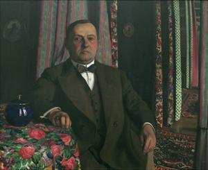 Portrait de Monsieur Hasen by Félix Vallotton