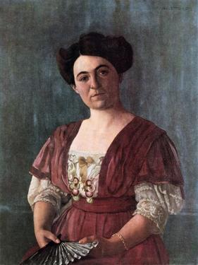 Portrait of Mme Haasen, 1908 by Félix Vallotton