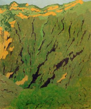 Rock Face Near Bex by Félix Vallotton