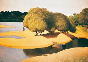 Sands on the Edge of the Loire by Félix Vallotton