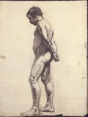 Standing Male Nude by Félix Vallotton