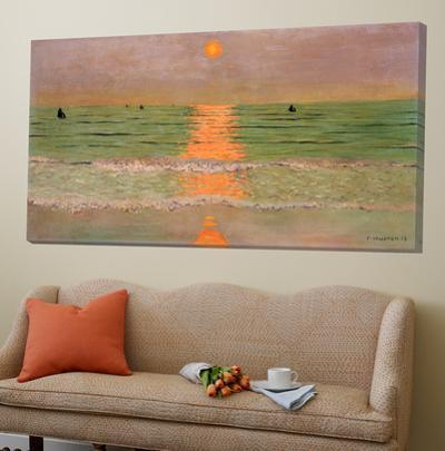 Sunset by Félix Vallotton