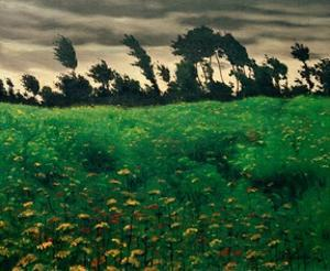 The Blooming Field by Félix Vallotton