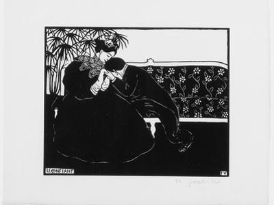 The Confidante, 1895 by Félix Vallotton