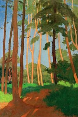 The Forest Clearing by Félix Vallotton
