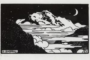 The Jungfrau, 1892 by Félix Vallotton