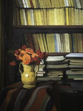 The Library by Félix Vallotton