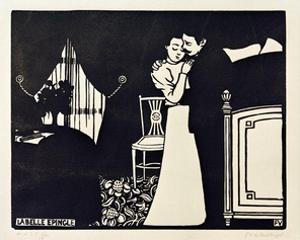 The Lovely Tie Pin by Félix Vallotton