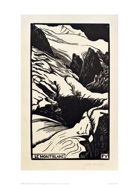 The Mont Blanc by Félix Vallotton