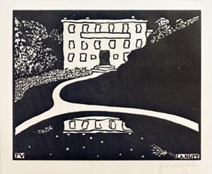 The Night by Félix Vallotton