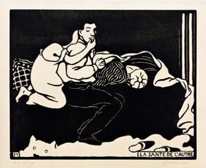 The Other's Health by Félix Vallotton