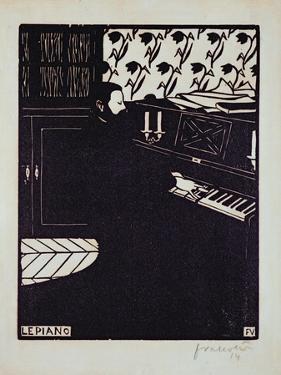 The Piano, 1914 by Félix Vallotton