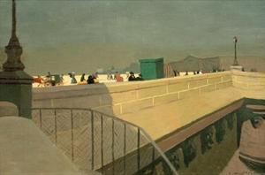 The Pont Neuf by Félix Vallotton