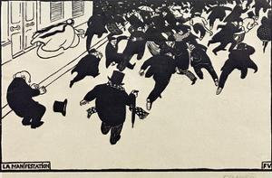 The Rally by Félix Vallotton