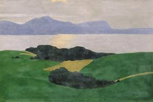 The Saleve and the Lake, 1900 by Félix Vallotton