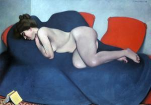 The Sleeper, 1908 by Félix Vallotton