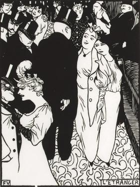 The Stranger, 1894 by Félix Vallotton