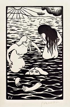 The Three Bathers by Félix Vallotton